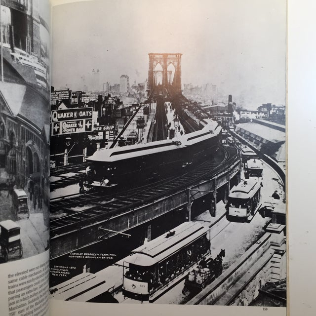 Picture History of the Brooklyn Bridge Book For Sale - Image 5 of 11