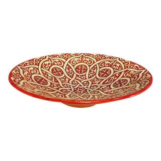 Moroccan Ceramic Plate
