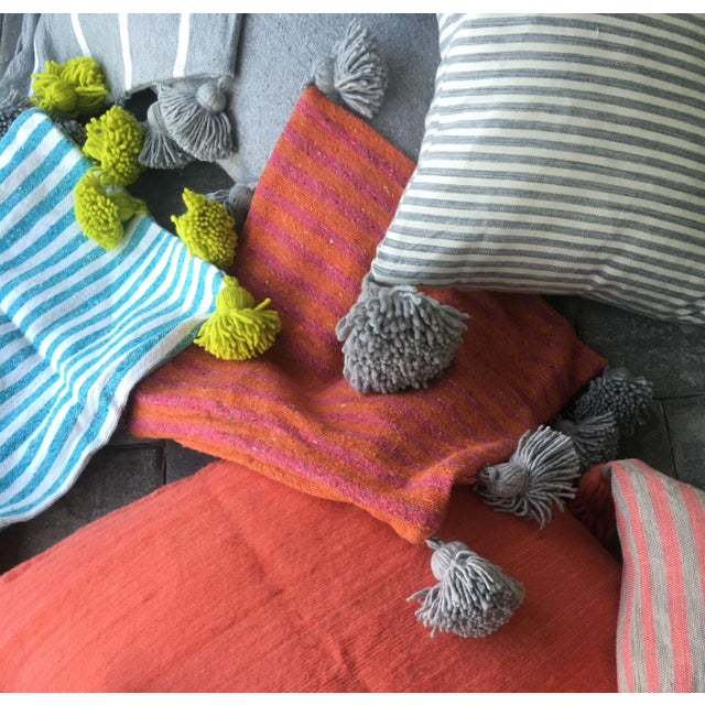 Custom-made tassel blanket, this beautiful (and cool) textile make a fun and functional addition to your bed room, living...