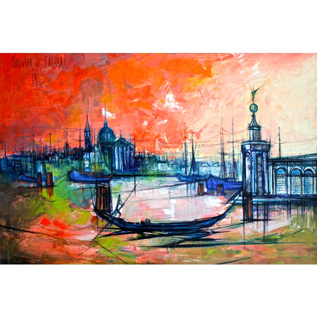 Italian Venice by Regis Bouvier de Cachard For Sale - Image 3 of 4