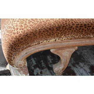 Late 19th Century French Velvet Leopard Print Chaise Preview