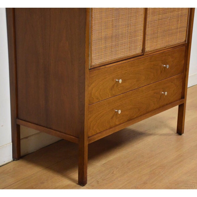 Paul McCobb Walnut Gentleman's Chest - Image 5 of 11