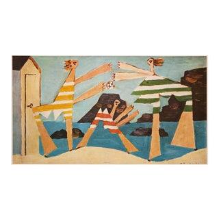 Picasso Jeu De Ballon Sur La Plage, 1971 Parisian Photogravure For Sale