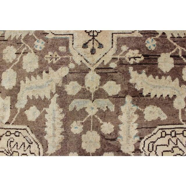 Semi Antique Lilihan Rug - 4′3″ × 6′9″ For Sale - Image 11 of 13