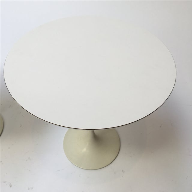 1st Edition Tulip Side Tables - Pair - Image 7 of 11