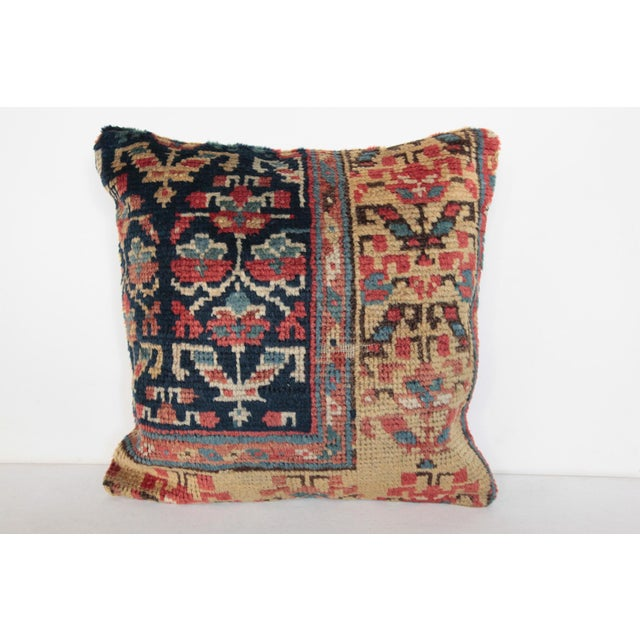 Antique Caucasian Rug Pillow For Sale - Image 10 of 10