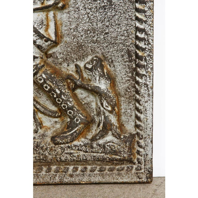 19th Century Cast Iron Hunt Plaque For Sale - Image 5 of 10