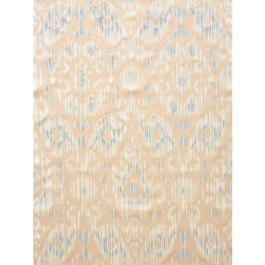 Traditional Sample, Scalamandre Tashkent Velvet, Cloud Fabric For Sale - Image 3 of 3
