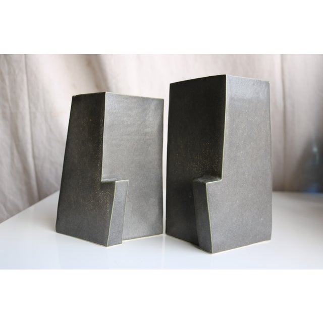 Architectural Ceramic Vases - A Pair - Image 2 of 10