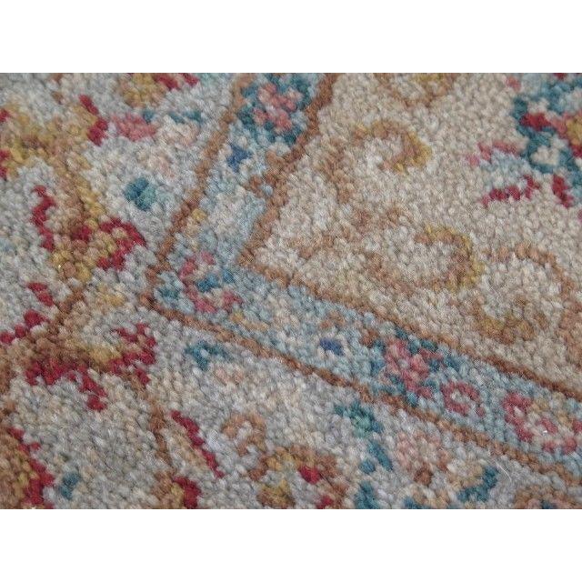 Red 1980s Karastan Red Kirman Area Rug - 4′4″ × 6′9″ For Sale - Image 8 of 13