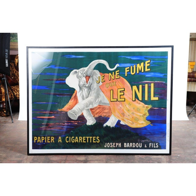 Je Ne Fume Que Le Nil-Original 20s Elephant Poster For Sale - Image 4 of 10