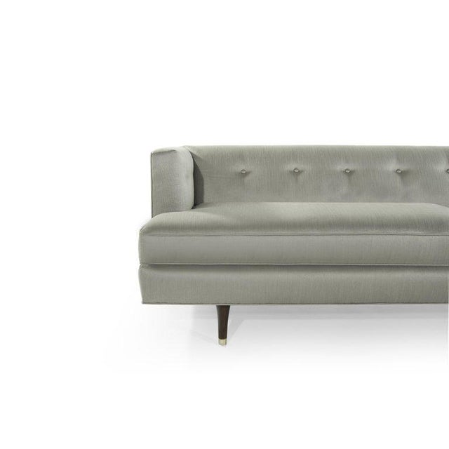 White Edward Wormley for Dunbar Sofa, Circa 1954 For Sale - Image 8 of 11