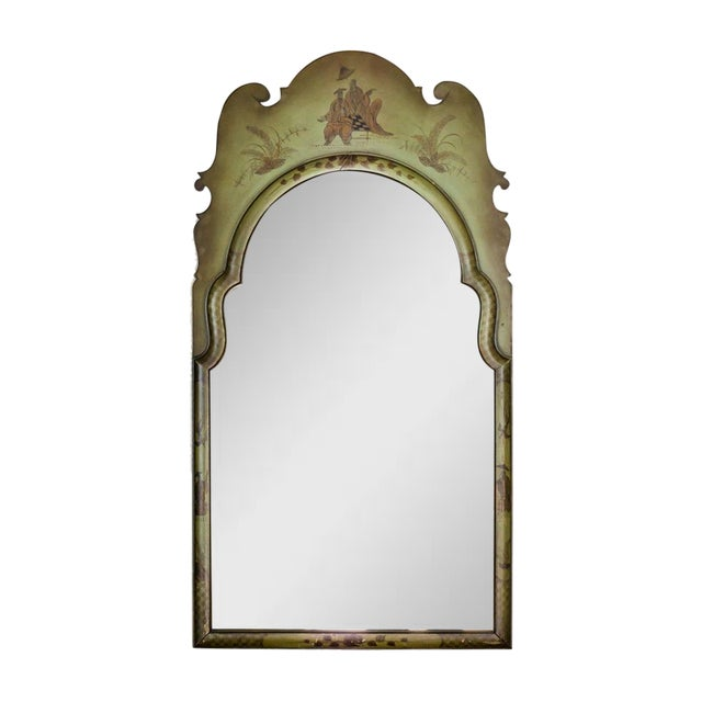1920s Italian Pagoda Chippendale Mirror For Sale