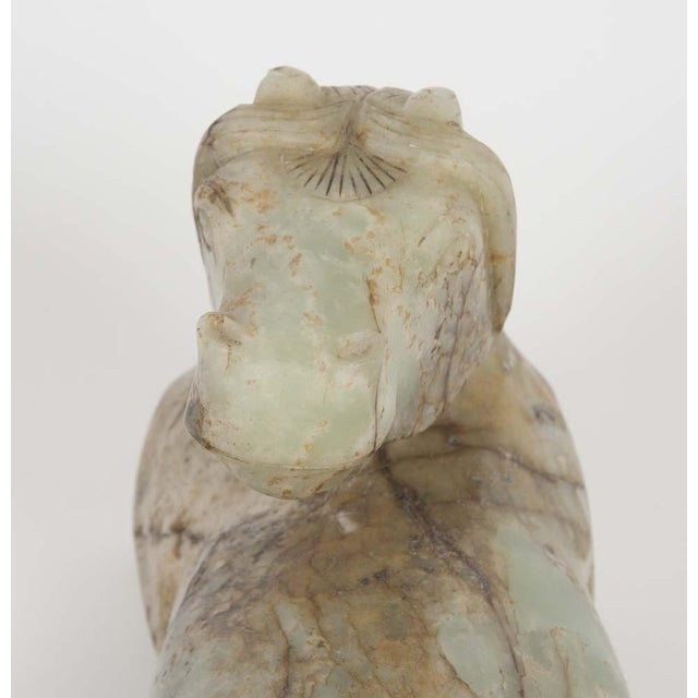 Early 20th Century Early 20th Century Chinese Jade Horse For Sale - Image 5 of 8