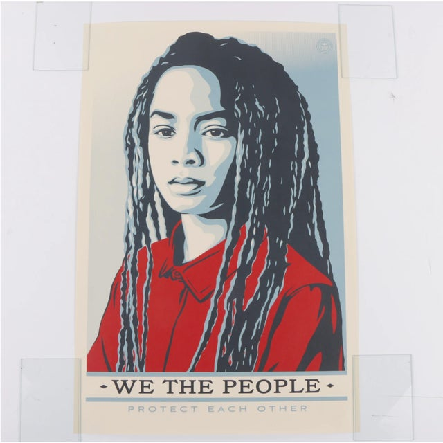 "Three Shepard Fairey Serigraph Prints ""We the People"" For Sale In New York - Image 6 of 13"