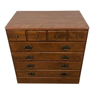 Ethan Allen Baumritter Custom Room Plan Crp Neirloom Nutmeg Maple Chest 1 For Sale
