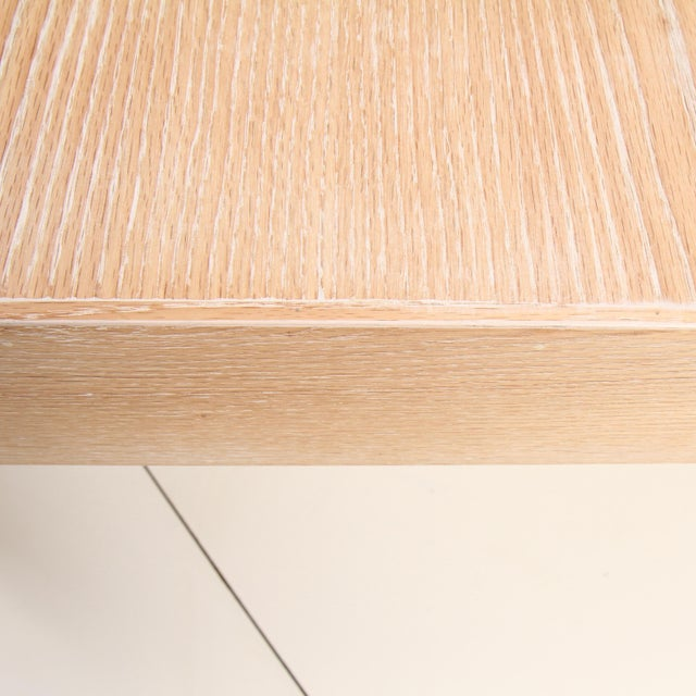 Cerused Coffee Table by Samuel Greg For Sale - Image 9 of 10