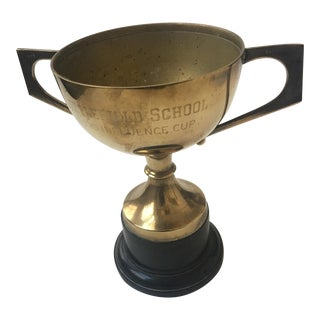Old English Littlefield School Trophy Cup For Sale