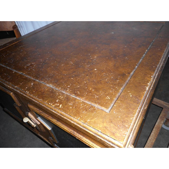 Black Asian Square Table - Image 6 of 7