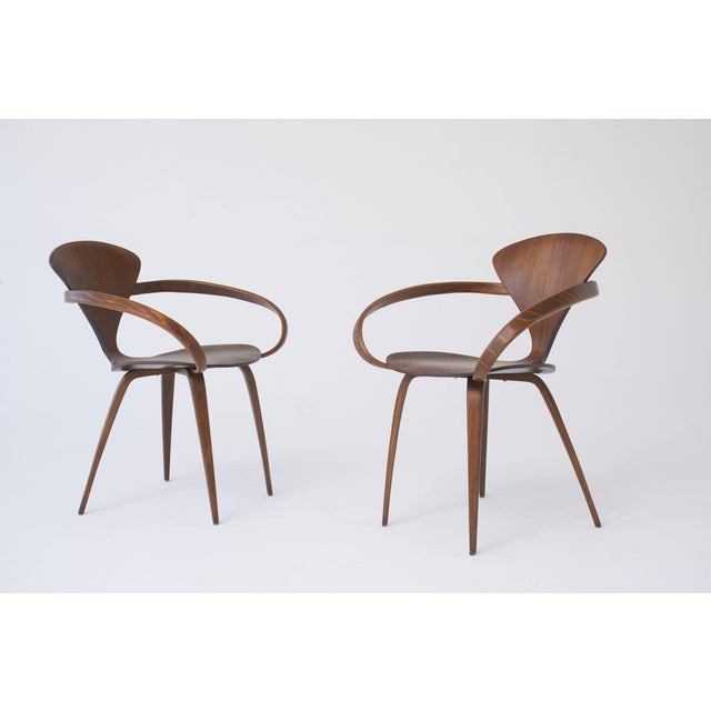 Mid-Century Modern Set of Eight Norman Cherner Dining Chairs, Made by Plycraft in the Usa, 1960s For Sale - Image 3 of 9