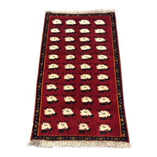 Hand Made Shiraz Gashgai Persian Rug - 2′6″ × 4′6″