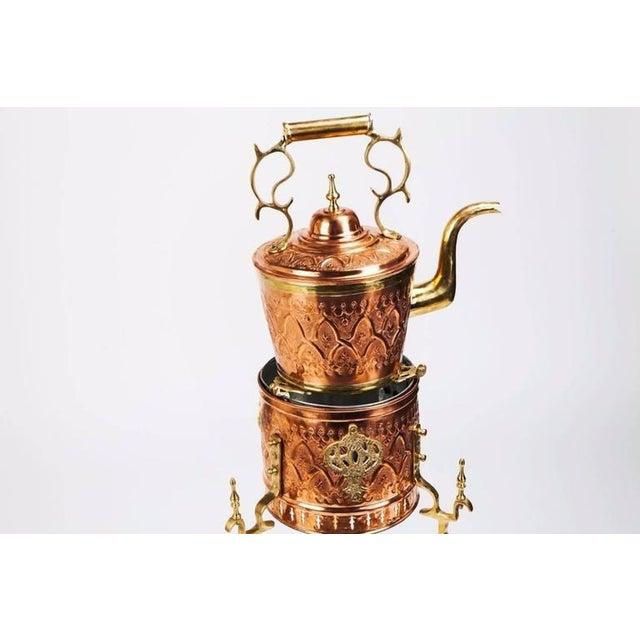 Traditional Majmar or Tea Pot on Kettle For Sale - Image 4 of 6