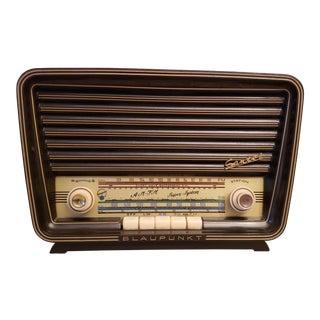 1950s Vintage Blaupunkt Santos 2310 German Tube Radio For Sale