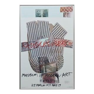 Robert Rauschenberg Museum of Modern Art, New York, 25 March - May 17 1977 For Sale