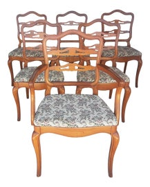 Image of British Colonial Dining Chairs