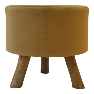 Rustic Stool or Ottoman For Sale