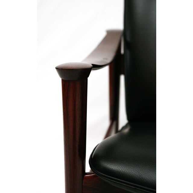 Frederik Kayser Rosewood Lounge Chair For Sale In Los Angeles - Image 6 of 10