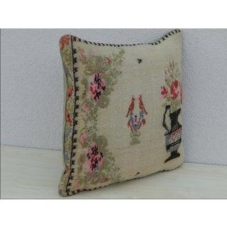 Turkish Lumbar Kilim Pillow Preview