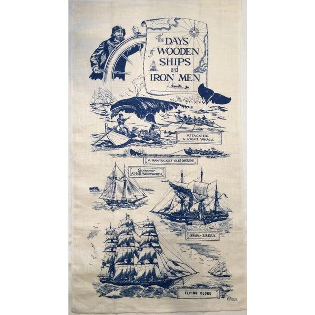Wooden Ships & Iron Men Tea Towel - Image 3 of 6