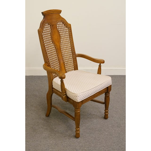 """This piece would look great at the head of the table. This chair is sure to bring charm to your home. 44"""" High 24.5"""" Wide..."""