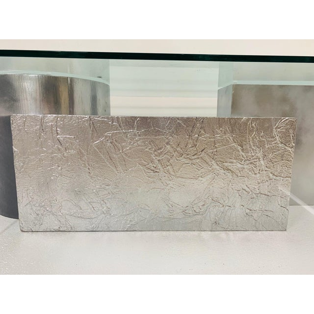 Three-Piece Geometrical Coffee Table For Sale In New York - Image 6 of 8