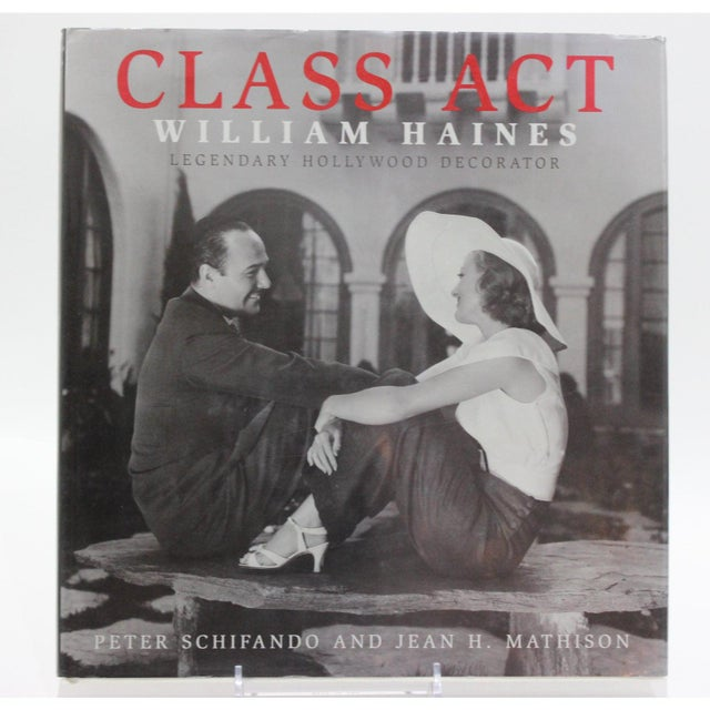 "2005 Hollywood Legendary Decorator ""Class Act William Haines"" Rare Book For Sale - Image 12 of 12"