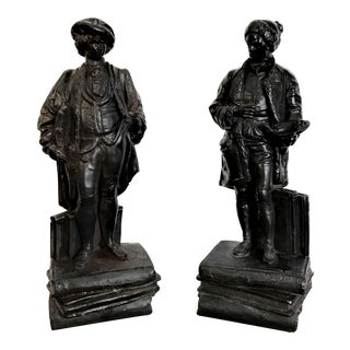 19th Century Renaissance Revival Figurines - a Pair For Sale