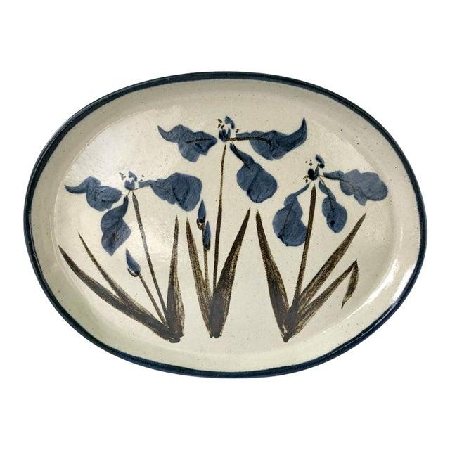 Vintage R. Brinker Handmade Stoneware Serving Platter - Image 1 of 5