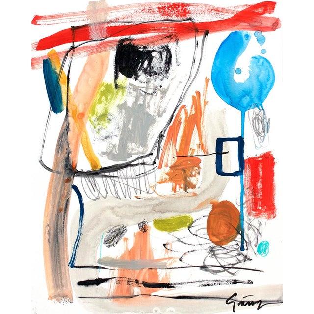 Lesley Grainger 'Narrative' Original Abstract Painting - Image 3 of 3