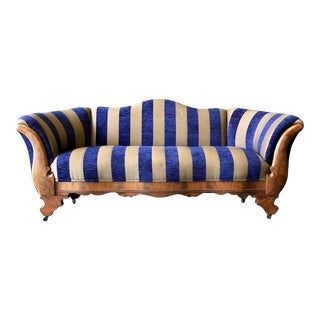 Eastlake Striped Sofa For Sale