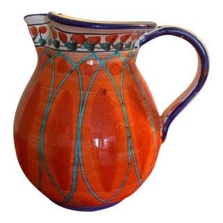Italian Contemporary Ceramic Pitcher For Sale