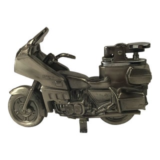 Vintage Honda Goldwing Figurative Table Lighter For Sale