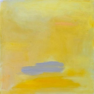 """""""Mirage"""" by Trixie Pitts Abstract Expressionist Minimalist Oil Painting For Sale"""