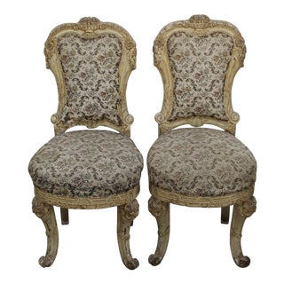 18th Century Louis XV Chairs - A Pair For Sale