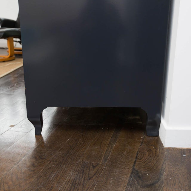 Lacquered Baker Media Cabinet For Sale - Image 5 of 11