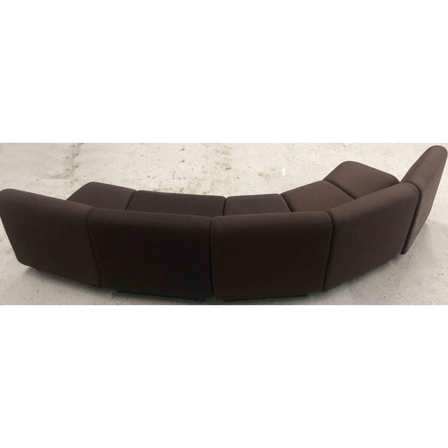 Brown 1970s Vintage Don Chadwick Herman Miller Modular Sofa - 5 Pieces For Sale - Image 8 of 13