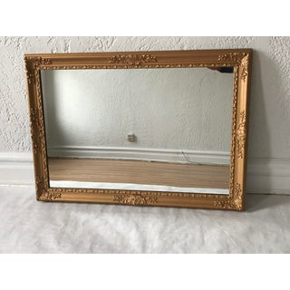 1920s Vintage French Louis XV Style Giltwood Mirror For Sale