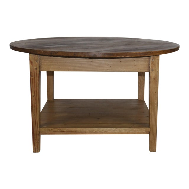 American Pine Coffee Table - Image 1 of 4