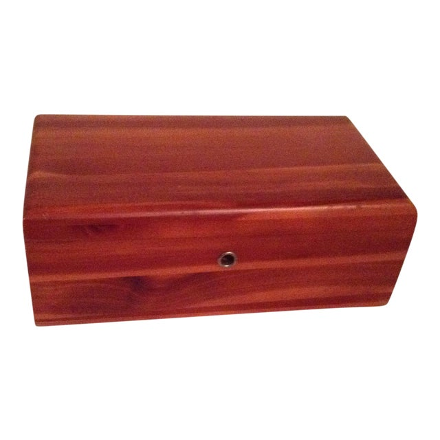 Lane Cedar Wood Box - Image 1 of 3