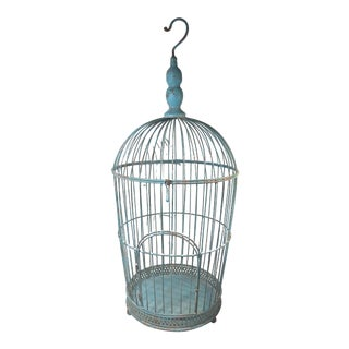 Vintage Wire Bird Cage For Sale